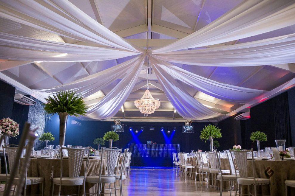 Salão de festas para casamento