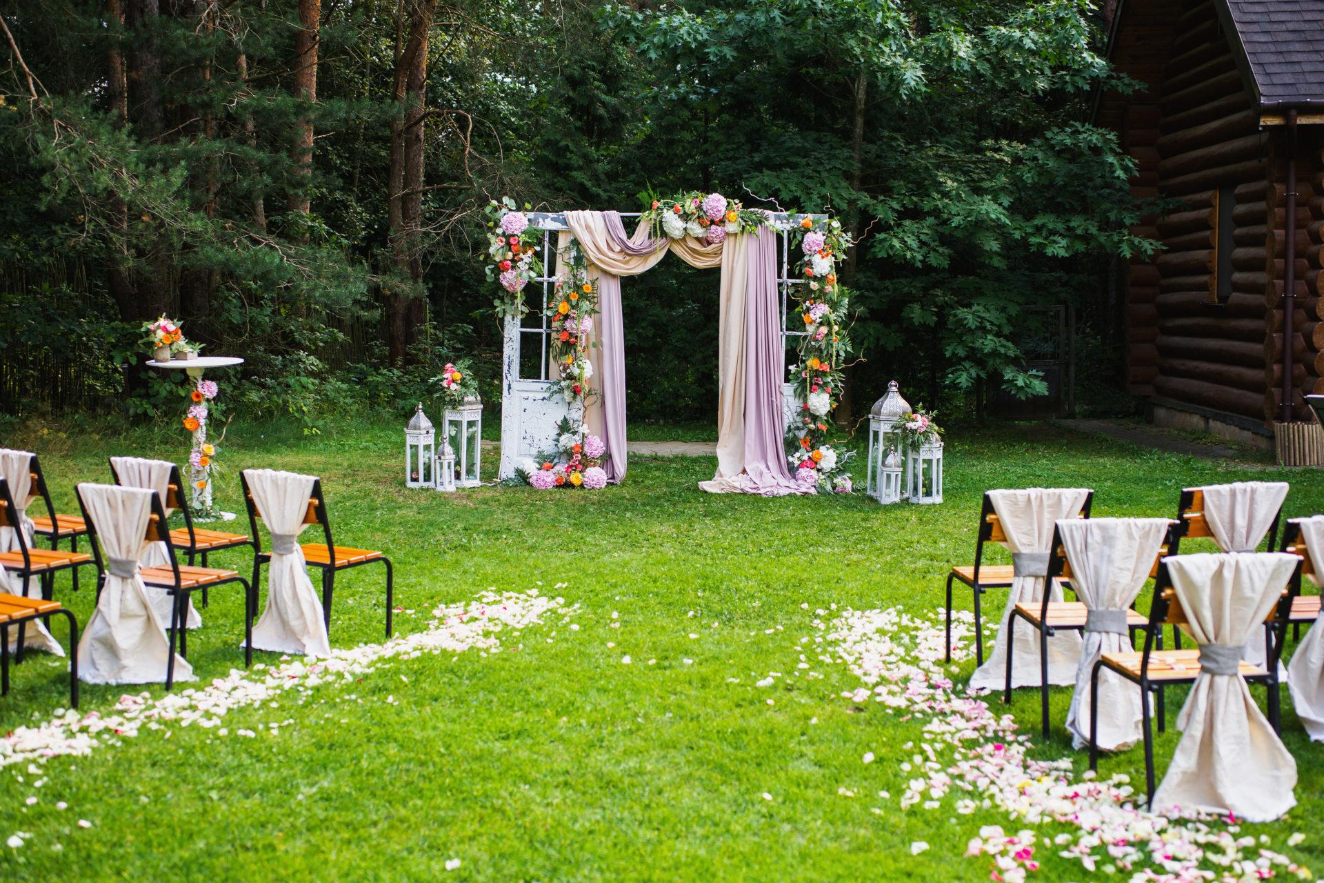 Como organizar um casamento no campo